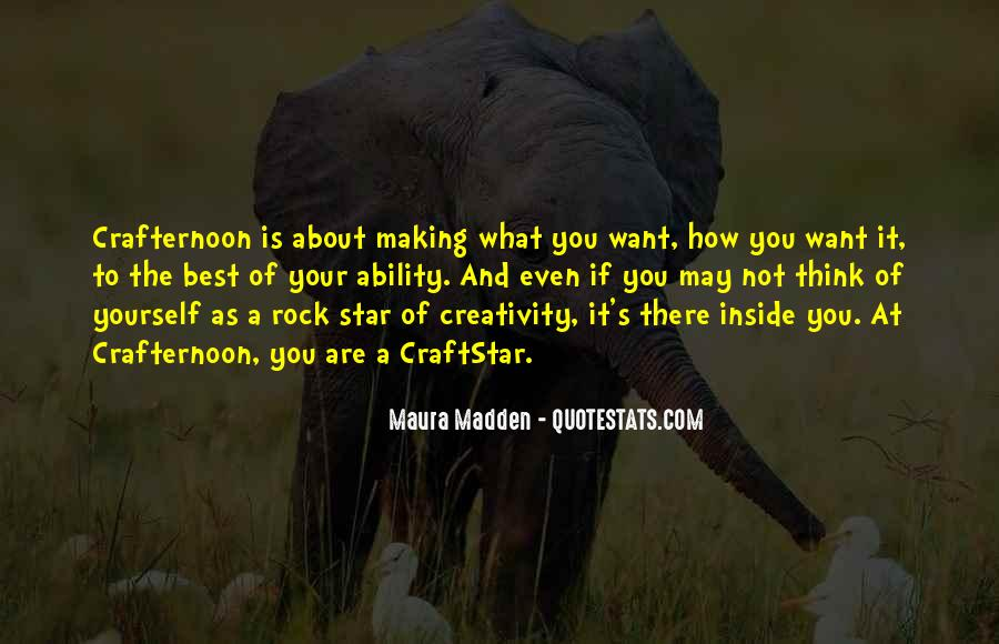 Quotes About Making Art #273399
