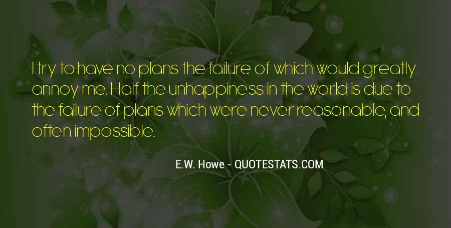 Quotes About No Plans #101727