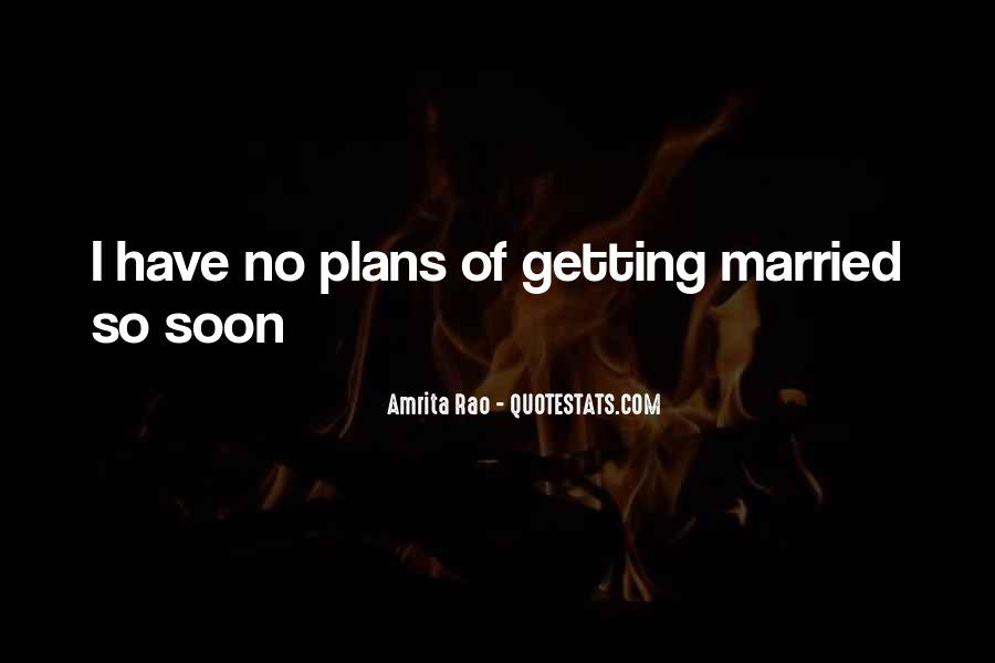 Quotes About No Plans #203336