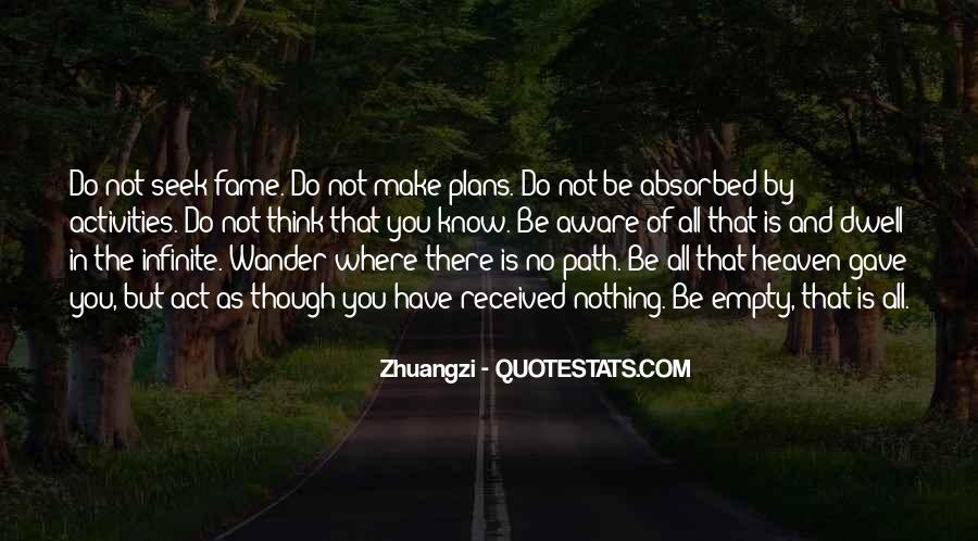 Quotes About No Plans #437974