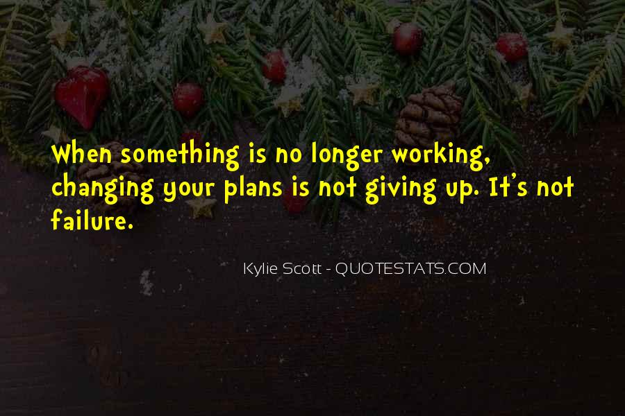 Quotes About No Plans #463439