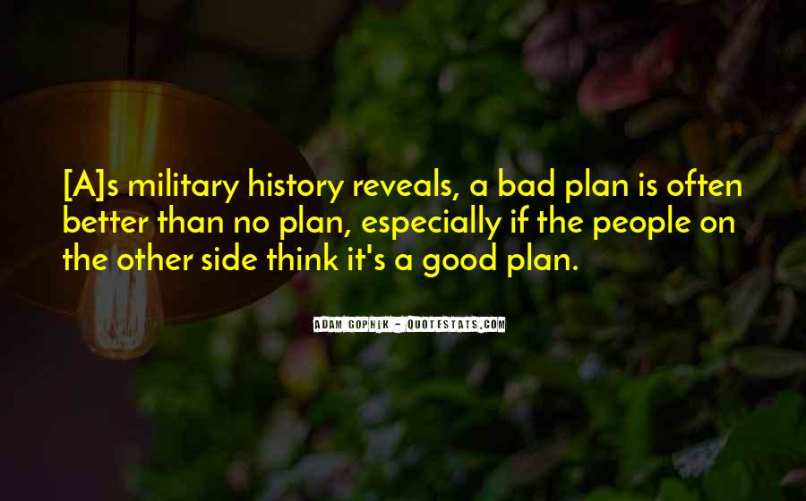 Quotes About No Plans #529305