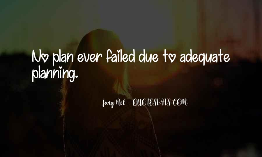 Quotes About No Plans #614568
