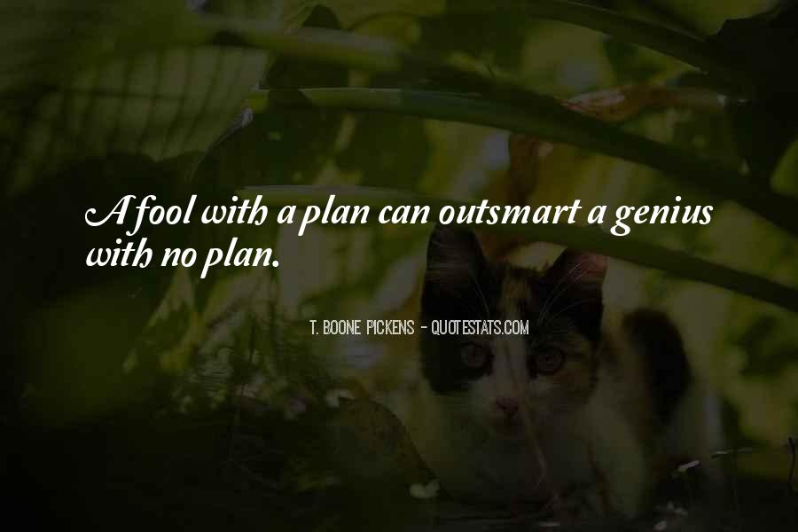 Quotes About No Plans #619970