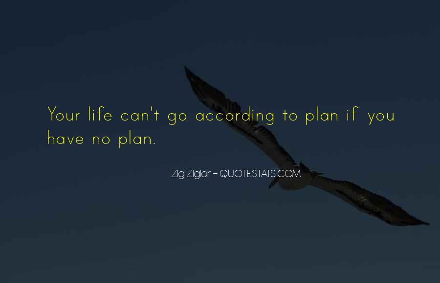 Quotes About No Plans #63797