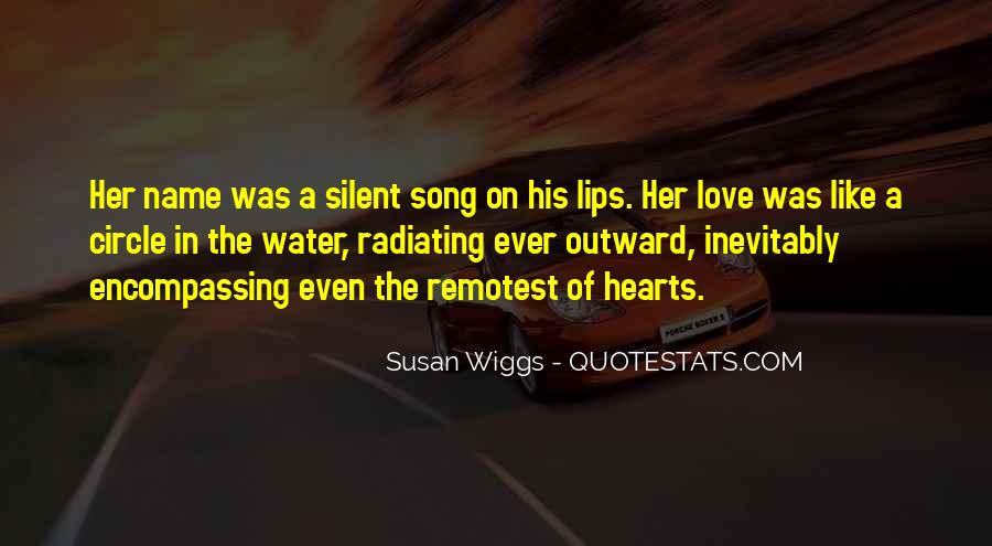 Quotes About Silent Love #592797