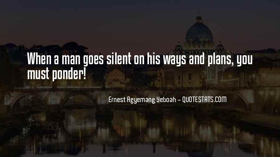 Quotes About Silent Love #644362