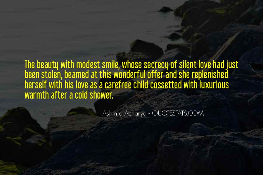 Quotes About Silent Love #751985