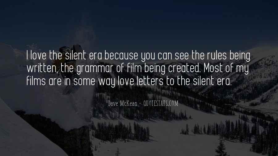 Quotes About Silent Love #95588