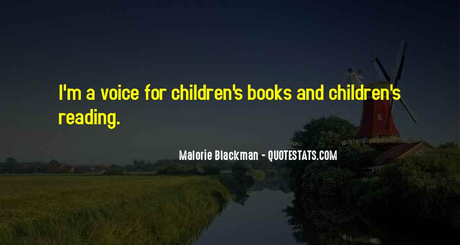 Quotes About Reading By Malorie Blackman #1048676