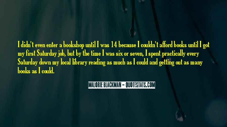 Quotes About Reading By Malorie Blackman #1283674