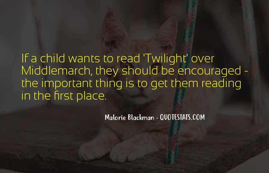 Quotes About Reading By Malorie Blackman #1762296