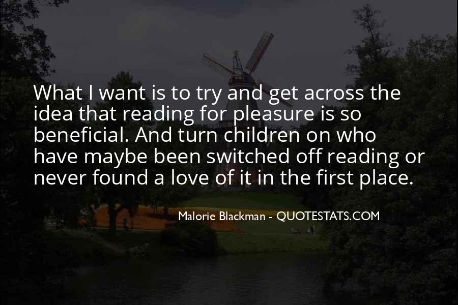 Quotes About Reading By Malorie Blackman #344023