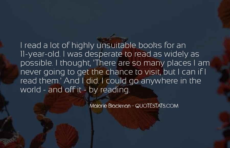 Quotes About Reading By Malorie Blackman #587833