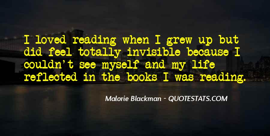 Quotes About Reading By Malorie Blackman #820894