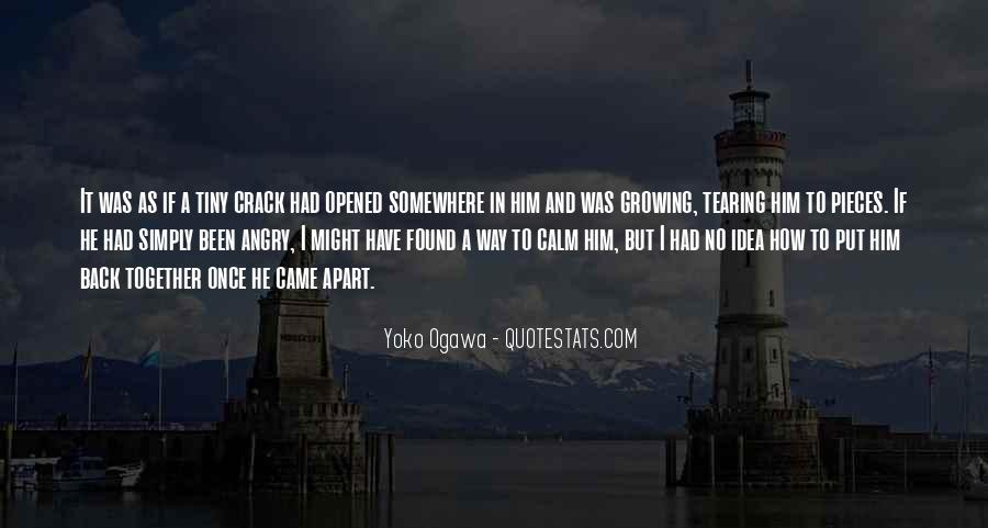 Quotes About Tearing Apart #1075769