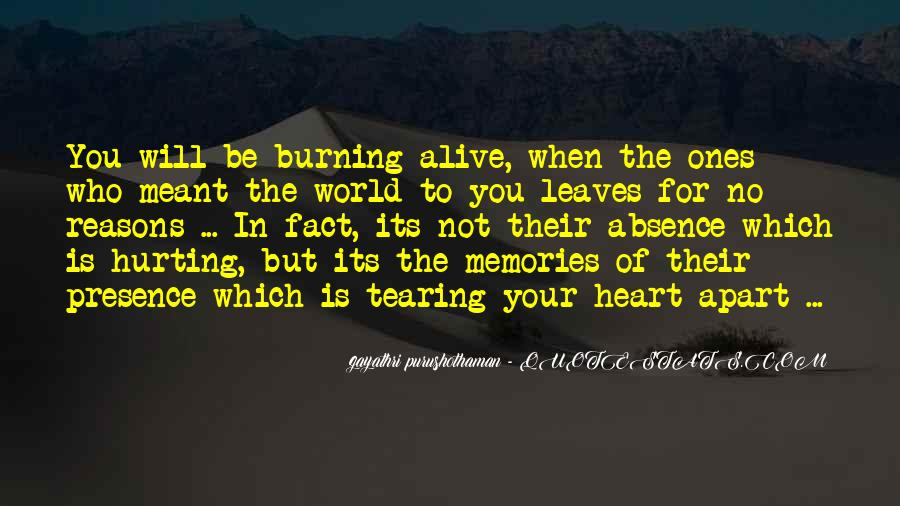 Quotes About Tearing Apart #238518