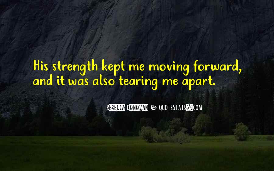 Quotes About Tearing Apart #51916