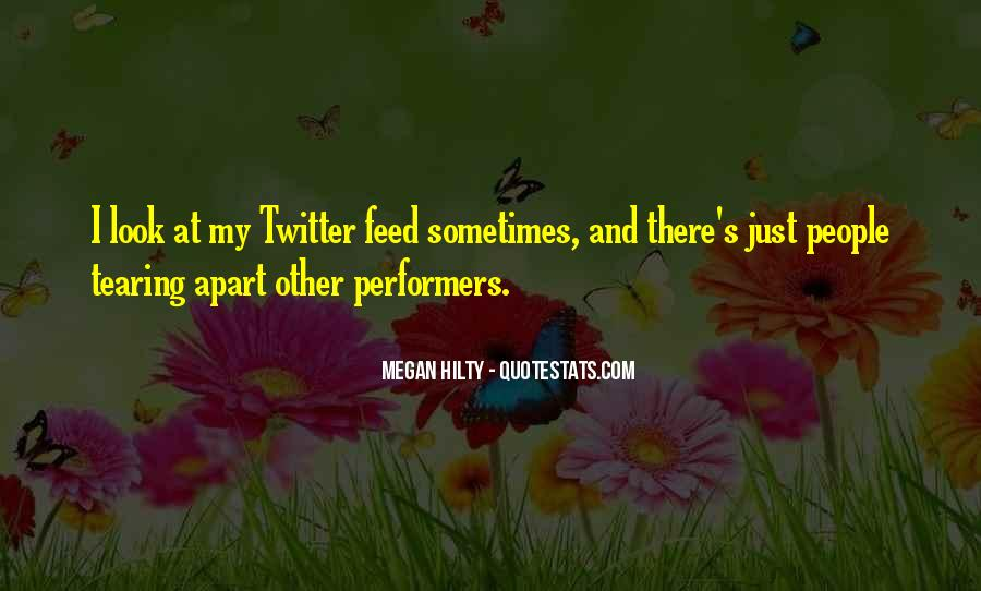 Quotes About Tearing Apart #863404