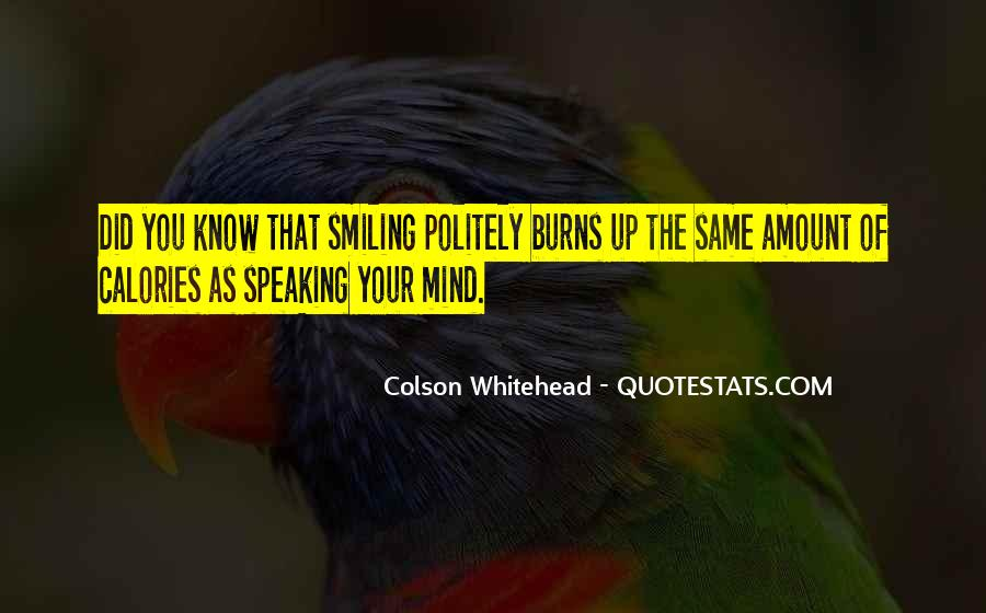 Quotes About Not Speaking Your Mind #392468