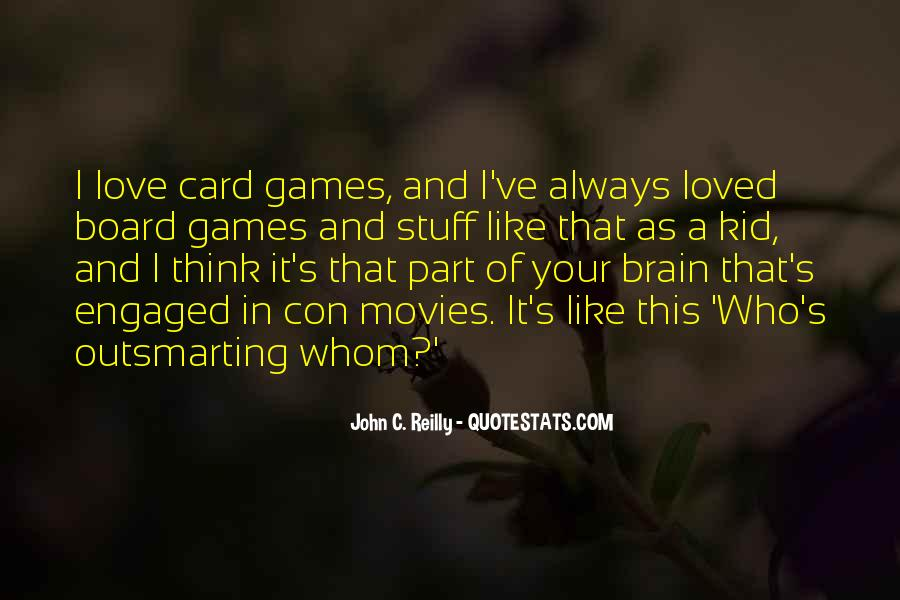Quotes About Brain Games #1124027