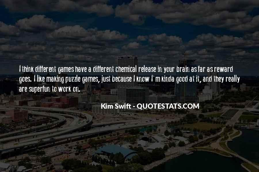 Quotes About Brain Games #649458