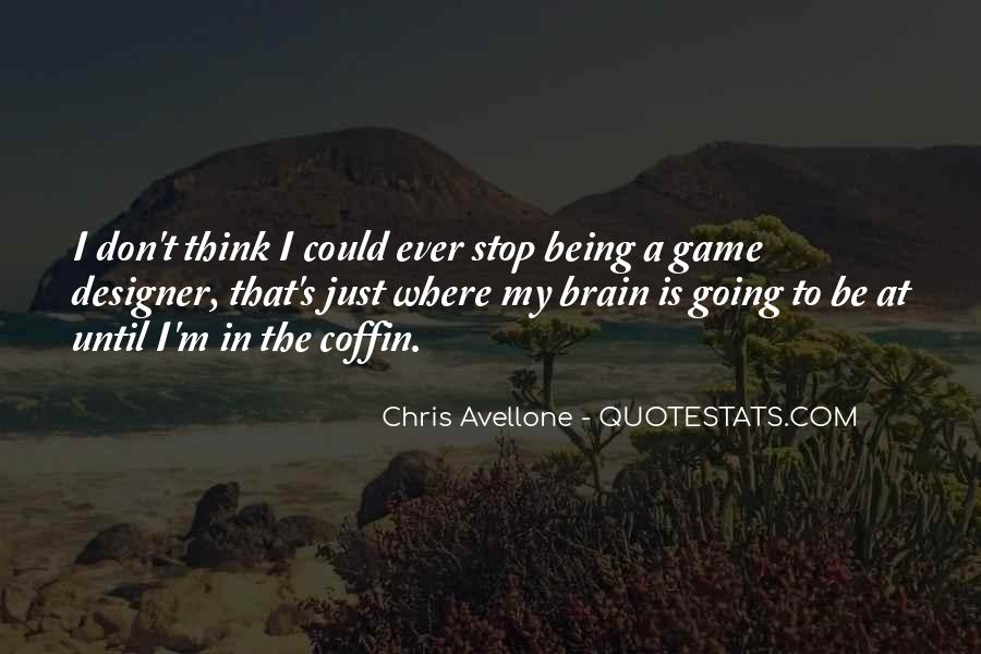 Quotes About Brain Games #939802