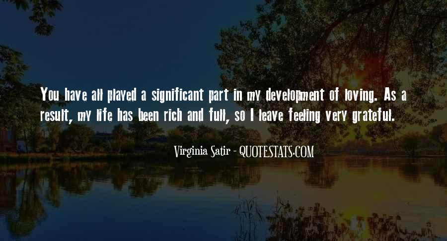 Quotes About Feeling Significant #1705425