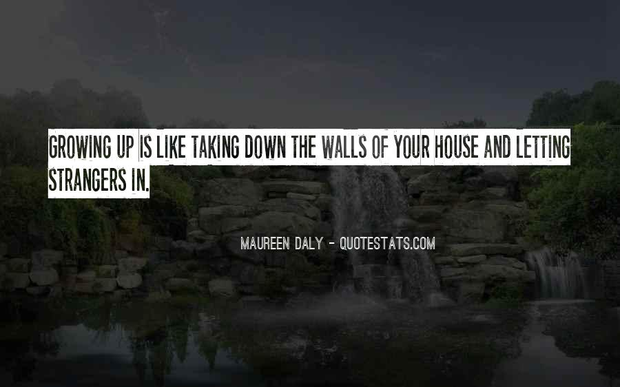 Quotes About Letting Down Walls #1192321