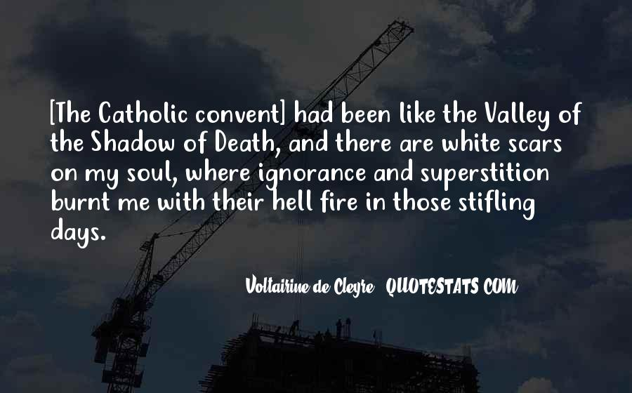 Quotes About The Valley Of The Shadow Of Death #111401