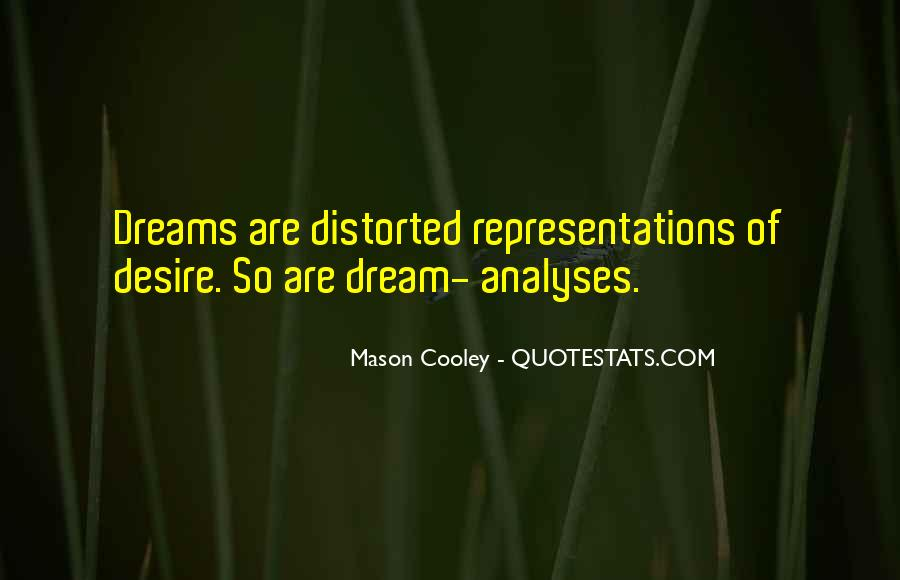 Quotes About Dream Analysis #1078757
