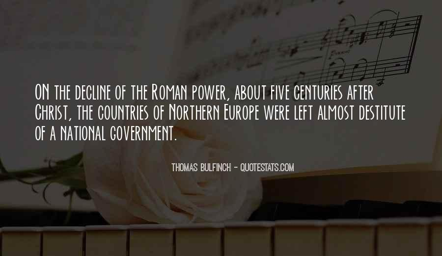 Quotes About Roman Government #871890