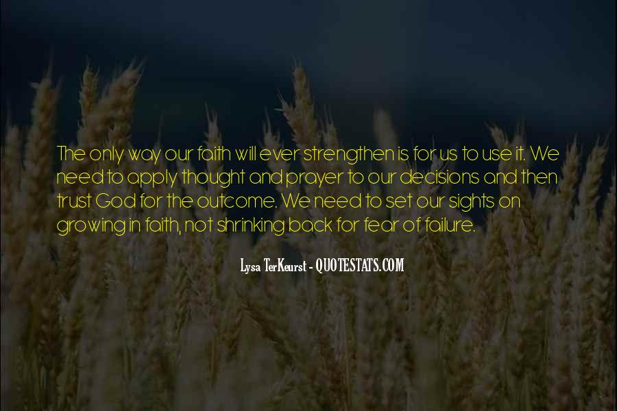 Quotes About Failure And God #1066948