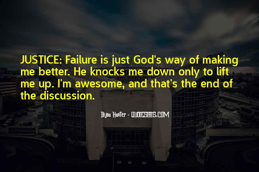 Quotes About Failure And God #413872