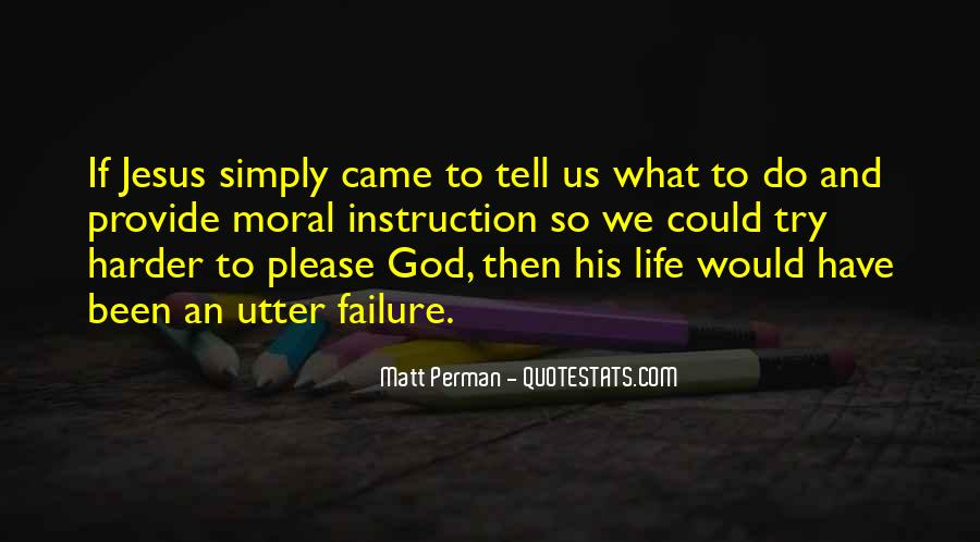 Quotes About Failure And God #44446