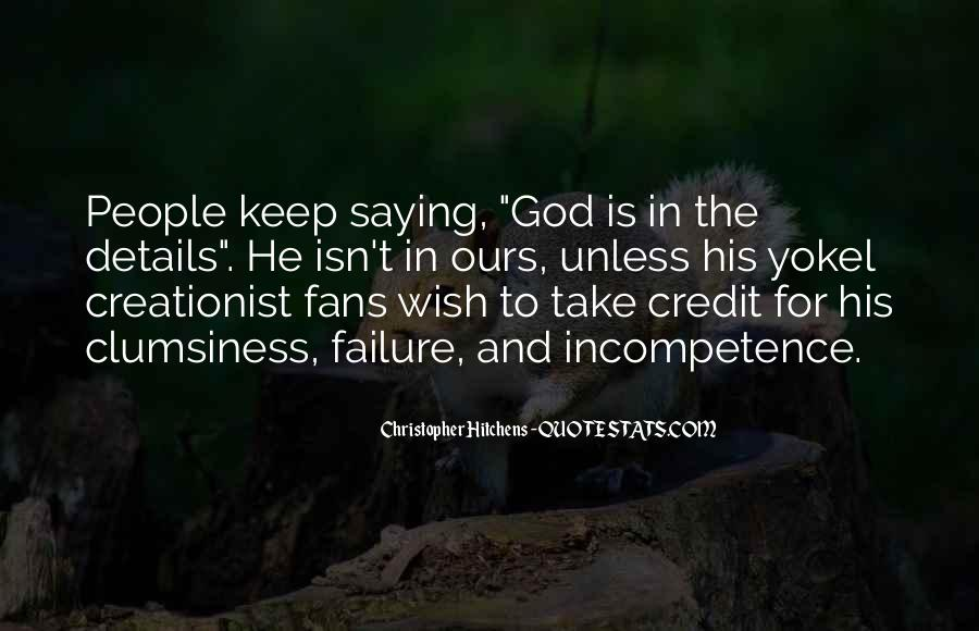 Quotes About Failure And God #549069