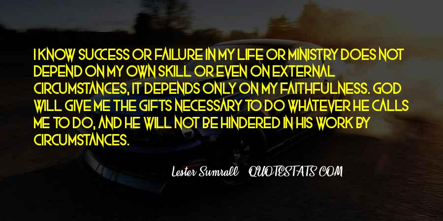 Quotes About Failure And God #722414