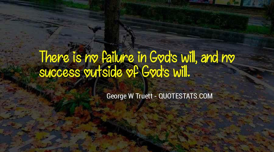 Quotes About Failure And God #922226