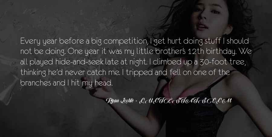 Quotes About My Little Brother Birthday #298003