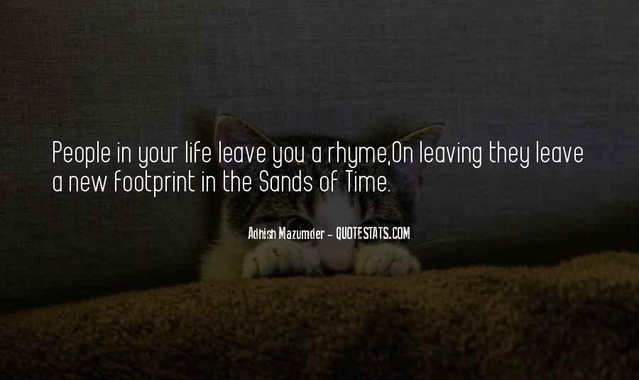 Quotes About Sands Of Time #1554346