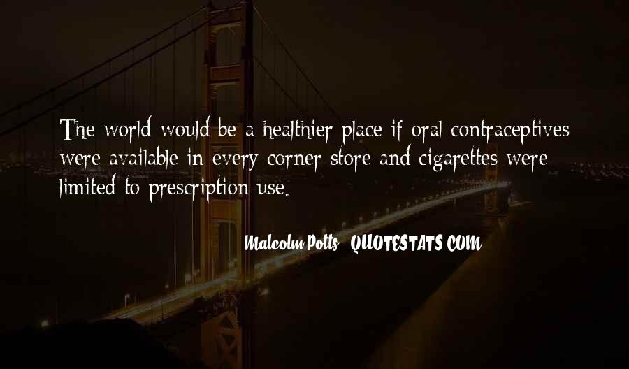Quotes About Contraceptives #1850123