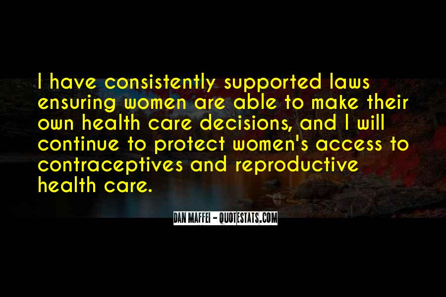 Quotes About Contraceptives #795088