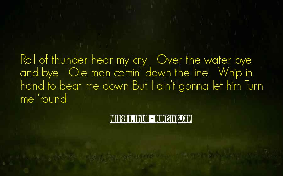 Quotes About Roll Of Thunder Hear My Cry #390235