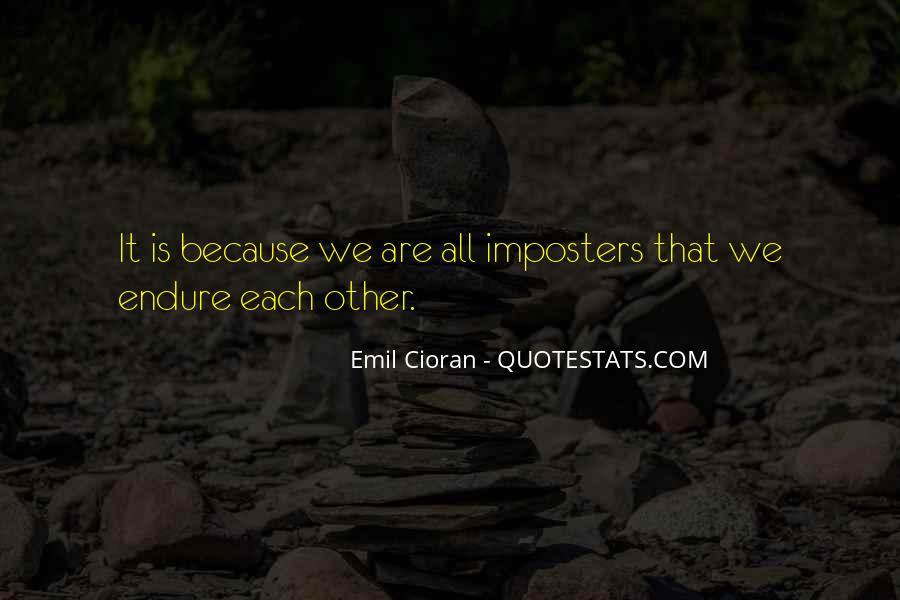 Quotes About Imposters #1188971