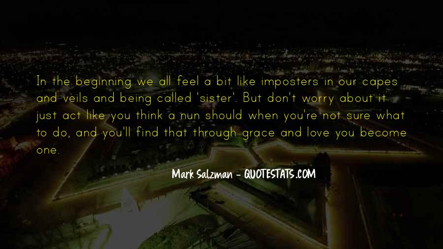 Quotes About Imposters #1334297