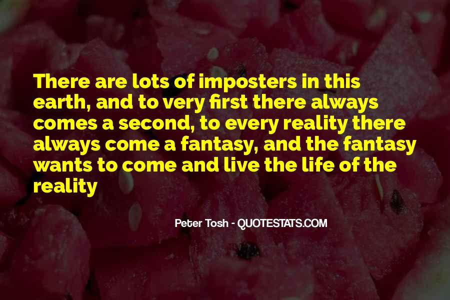 Quotes About Imposters #1723539