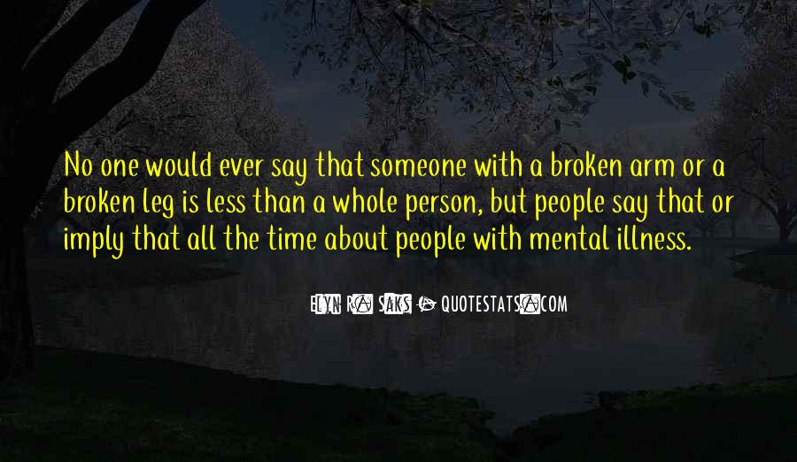 Quotes About Stigma Of Mental Illness #1113798