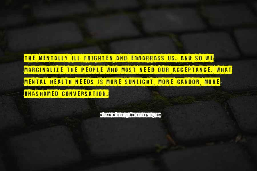 Quotes About Stigma Of Mental Illness #784216