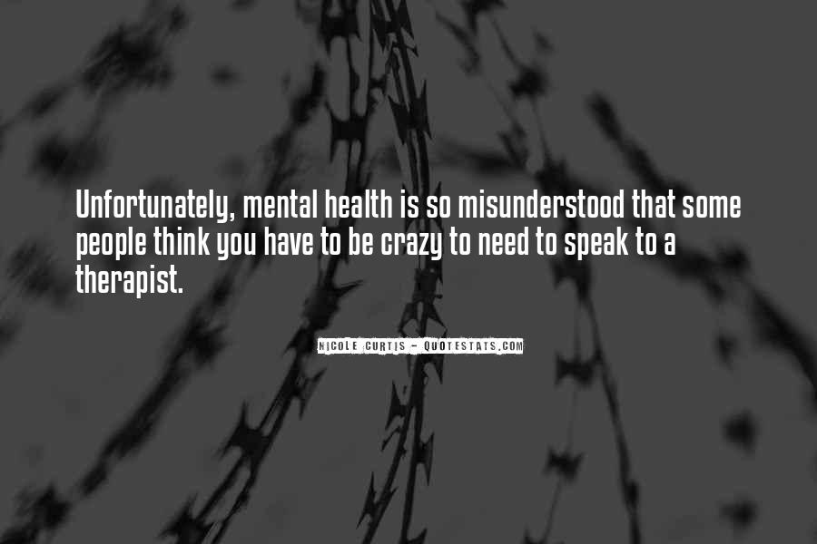 Quotes About Stigma Of Mental Illness #801609