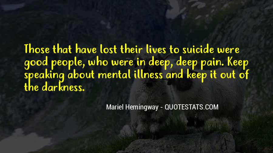 Quotes About Stigma Of Mental Illness #852246